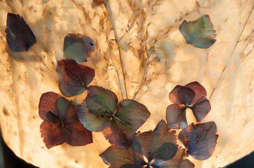 Summer Dawn light sculpture encaustic detail